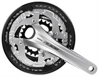 Kurbelgarnitur Shimano FCT 4060 Alivio schwarz Bild 1