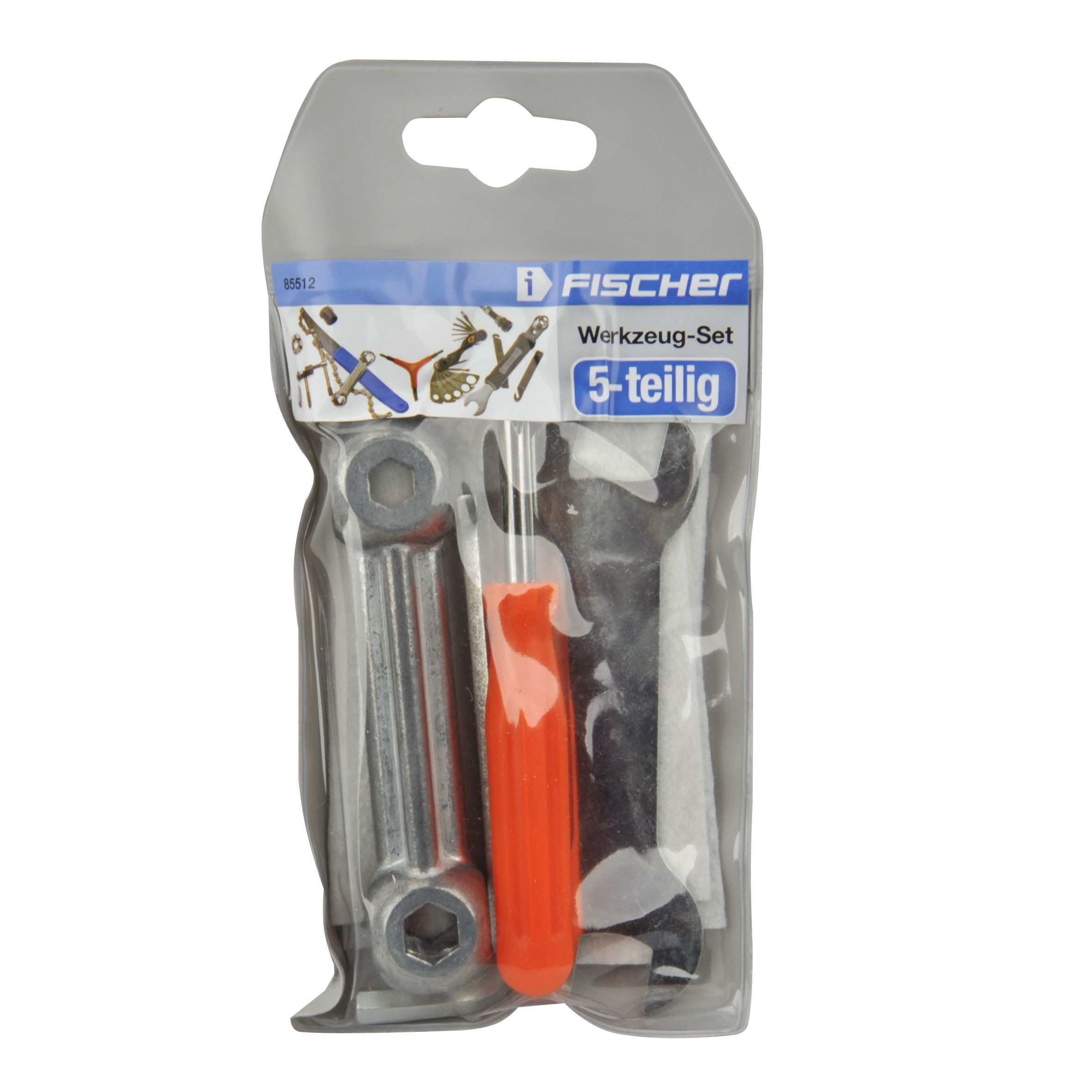 Fischer Werkzeug-Set 5-teilig für Fahrräder Bild 2
