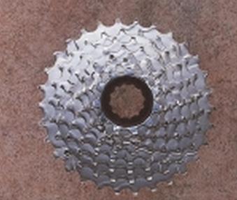 Kassette 7-fach Shimano HG 41 11-28 Zähne Bild 1