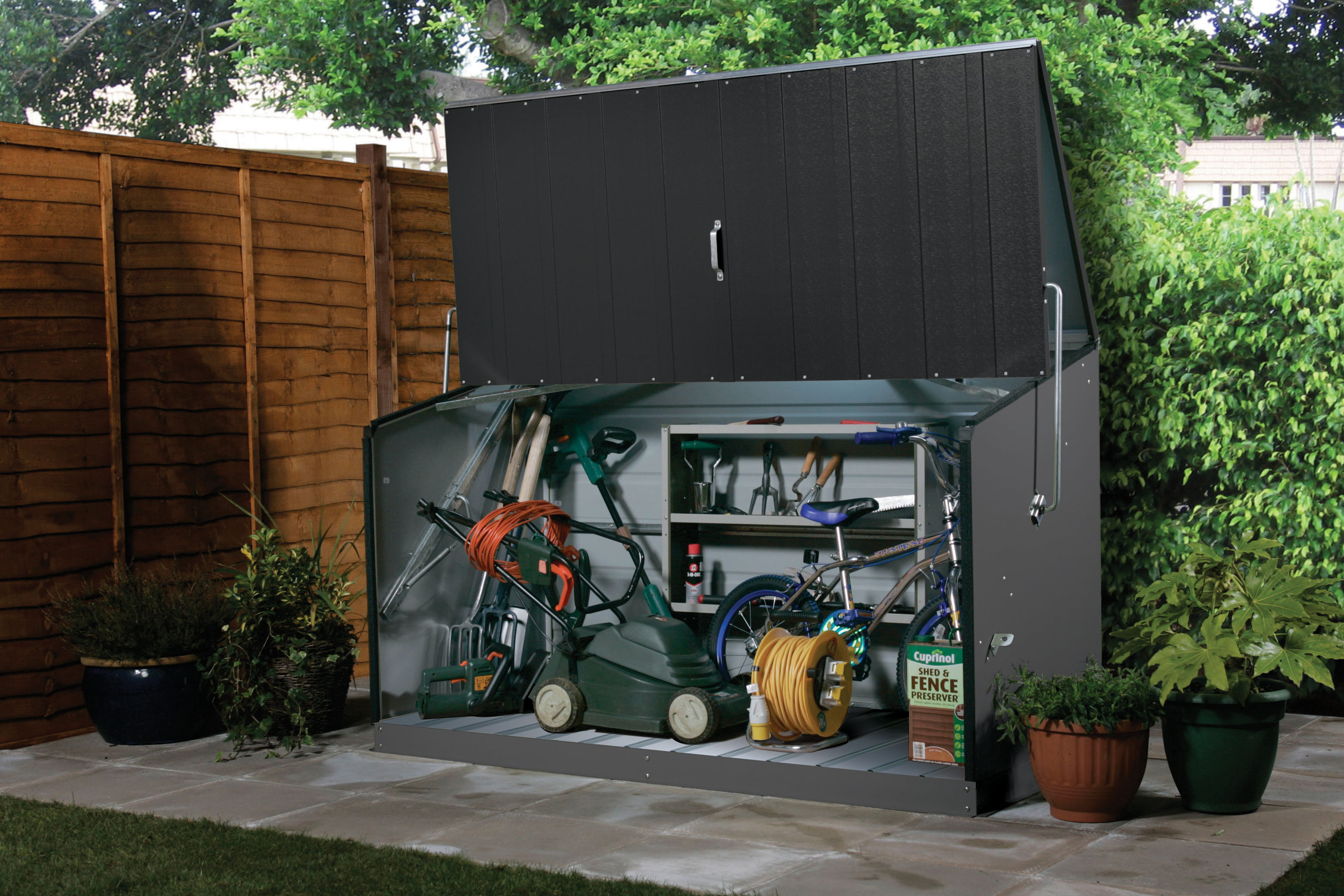 Motorcycle Garage Shed