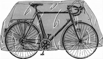 Garage Fahrrad PVC 180 x 100cm Bild 1