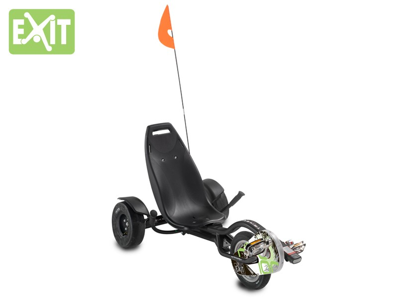 Gokart / Balance Bike / Dreirad EXIT Triker Pro 100 schwarz Bild 2