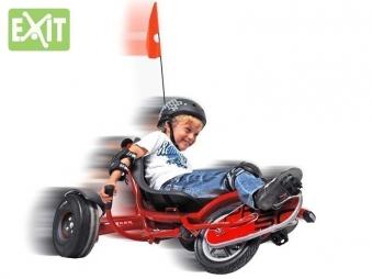 Gokart / Balance Bike / Dreirad EXIT Triker Pro 100 schwarz Bild 3