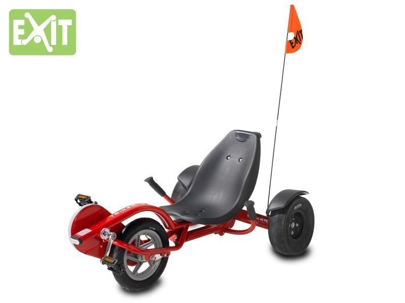 Gokart / Balance Bike / Dreirad EXIT Triker Pro 50 rot Bild 2