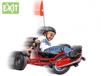 Gokart / Balance Bike / Dreirad EXIT Triker Pro 50 rot Bild 3