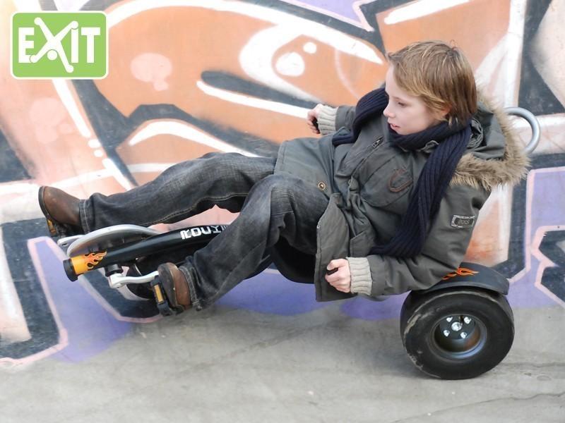 Gokart / Balance Bike / Dreirad EXIT Triker Rocker Fire Bild 2
