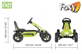 Gokart / Pedal-Gokart EXIT Foxy Bild 3