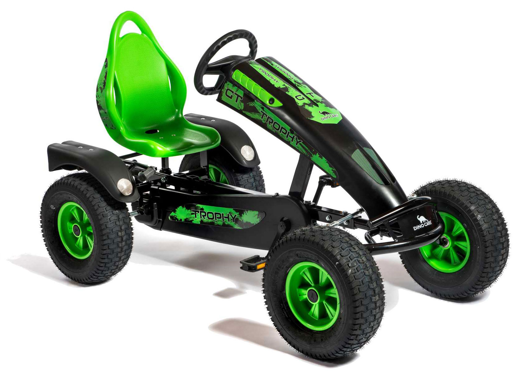 Gokart / Pedal-Gokart Editions Trophy BF1 schwarz DINO CARS Bild 1