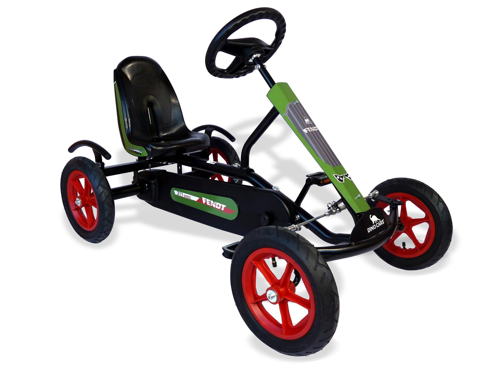 Gokart / Pedal-Gokart Kids Speedy Fendt BF1 DINO CARS Bild 1