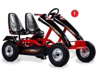 Gokart / Pedal-Gokart ProLine Twin F rot DINO CARS Bild 1
