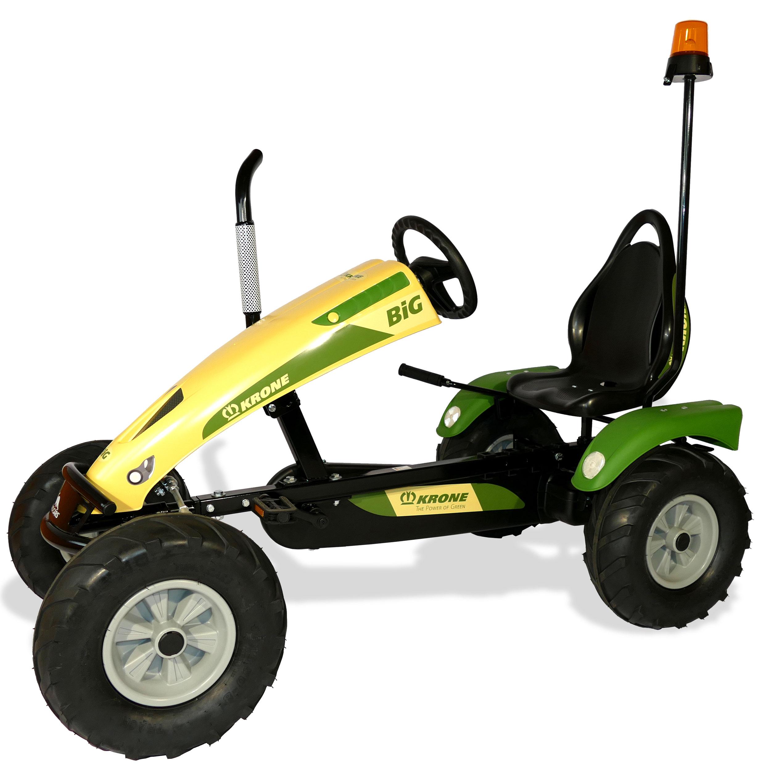 Gokart / Pedal-Gokart Track BF1 Krone BIG mit Rundumleuchte DINO CARS Bild 2