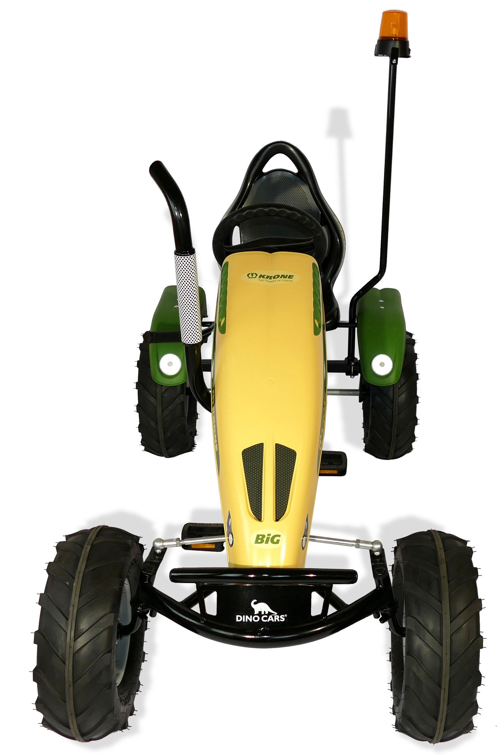 Gokart / Pedal-Gokart Track BF1 Krone BIG mit Rundumleuchte DINO CARS Bild 3