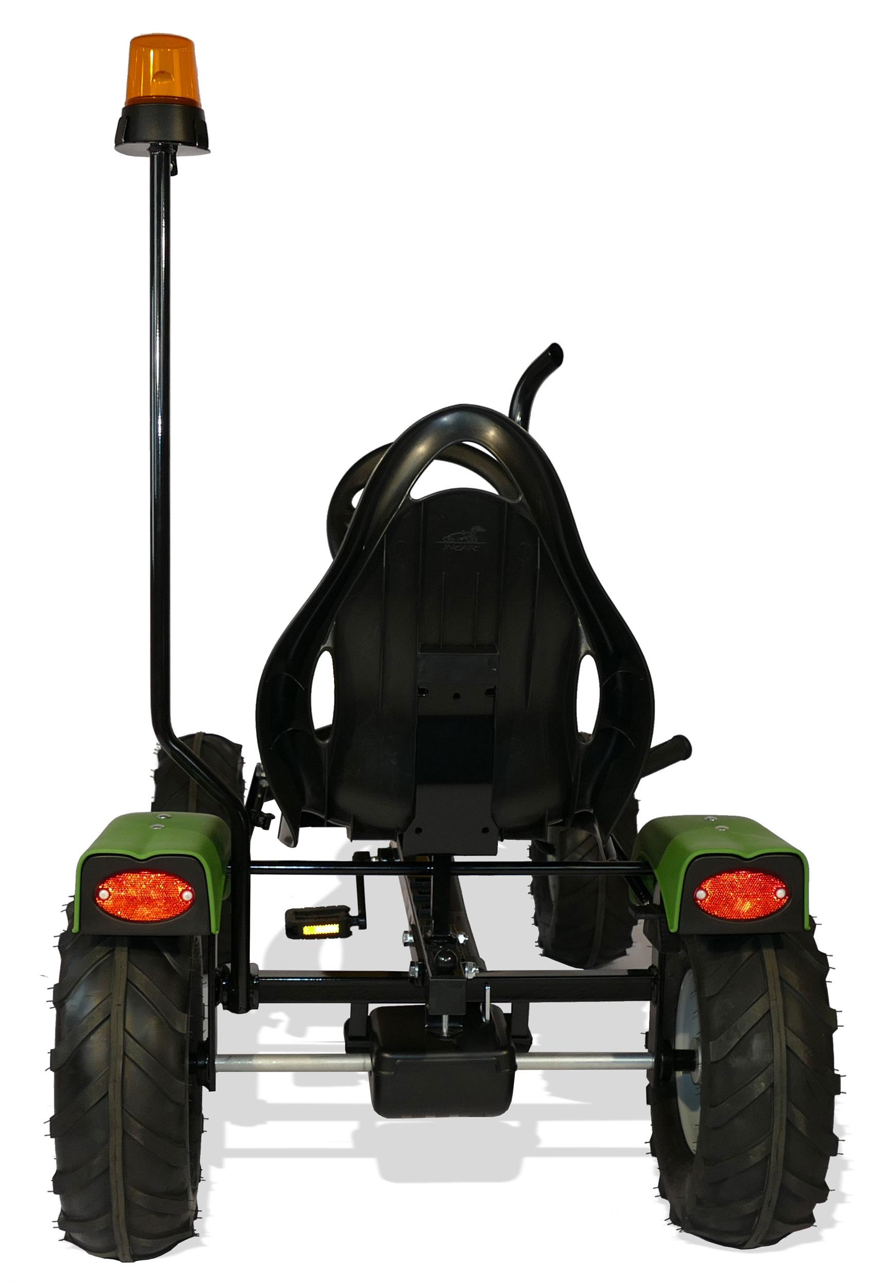 Gokart / Pedal-Gokart Track BF1 Krone BIG mit Rundumleuchte DINO CARS Bild 4