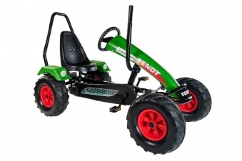Gokart / Pedal-Gokart Track BF3 Fendt grün mit Überrollbügel DINO CARS Bild 1