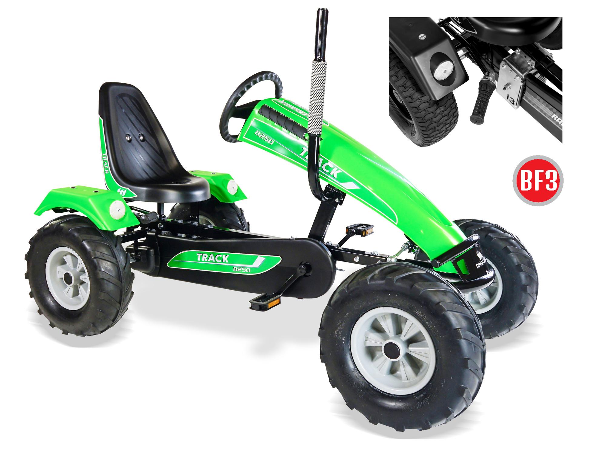 Gokart / Pedal-Gokart Track BF3 grün DINO CARS Bild 1