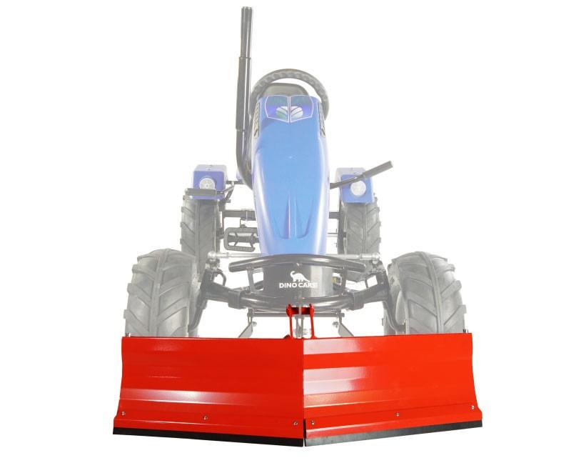 Schneeschieber rot für Gokart DINO CARS Bild 1