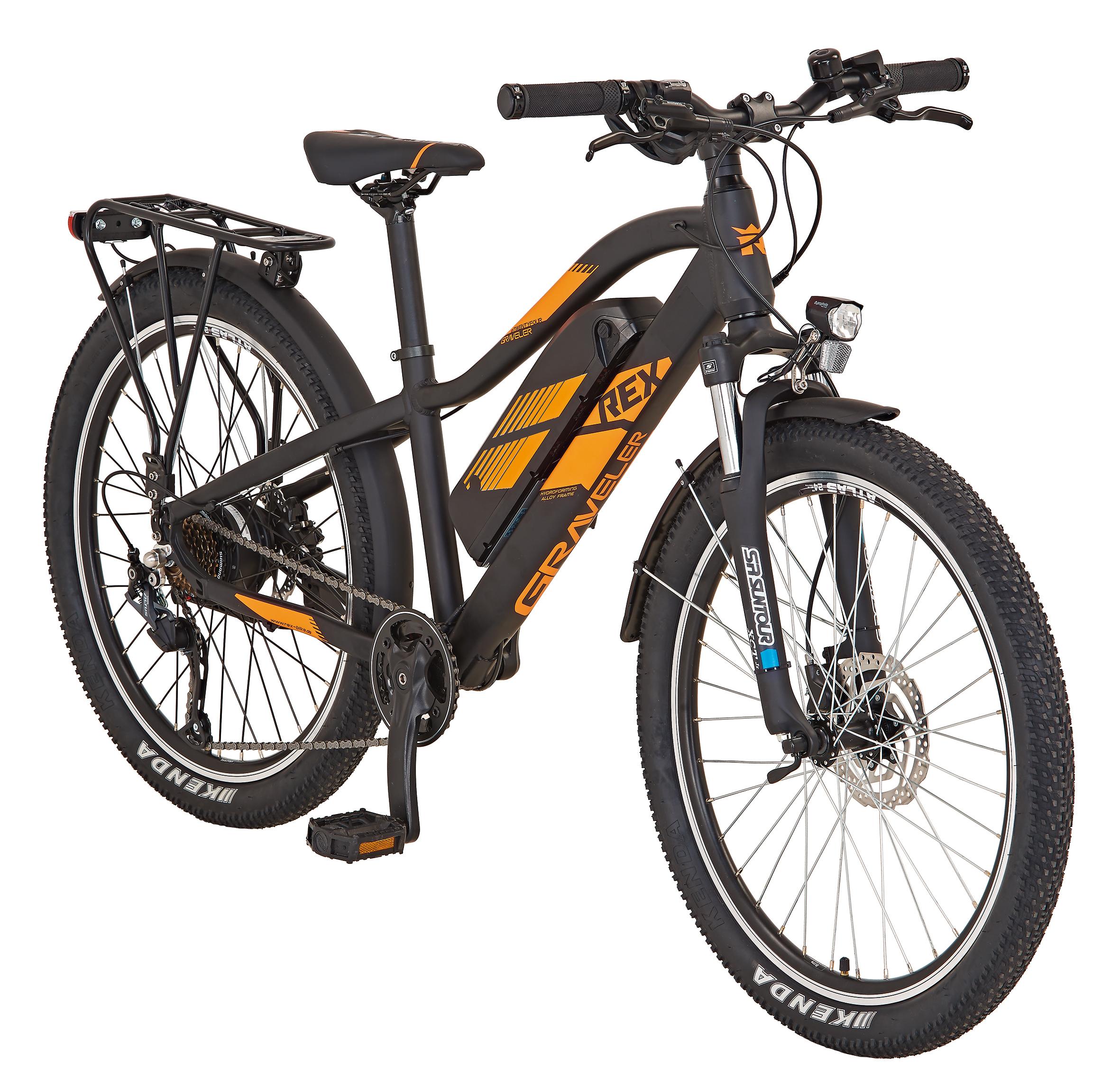 "Rex Bike Jugend Elektrofahrrad / E-All Terrain Bike Graveler Kids 24"" Bild 2"