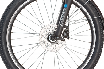 "Rex Bike Jugend Elektrofahrrad / E-All Terrain Bike Graveler Kids 24"" Bild 6"