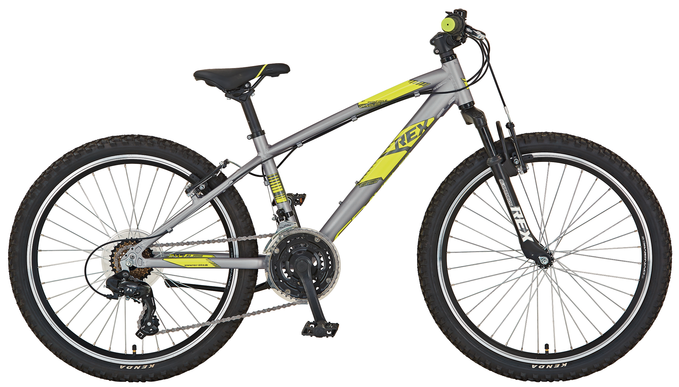 "Rex Bike Jugendfahrrad / Graveler Twentyfour Kids Bike 24"" Bild 1"