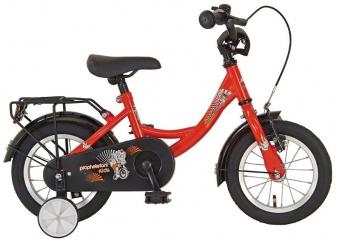 "Kinderfahrrad / Fahrrad EINSTEIGER Prophetefant rot 12 1/2"" Prophete Bild 1"
