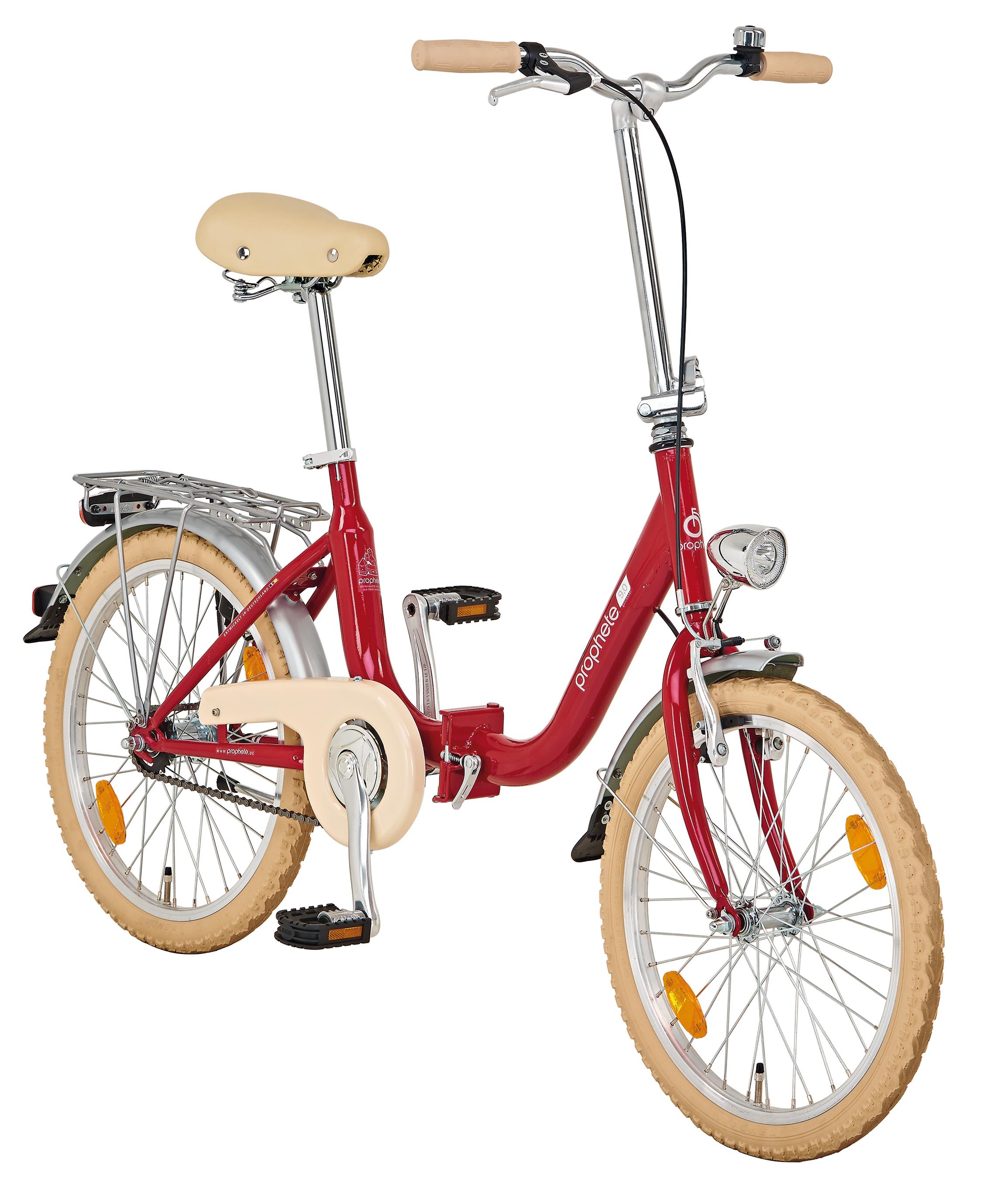 "Prophete City Faltrad Geniesser 9.0 City Bike 20"" Bild 2"