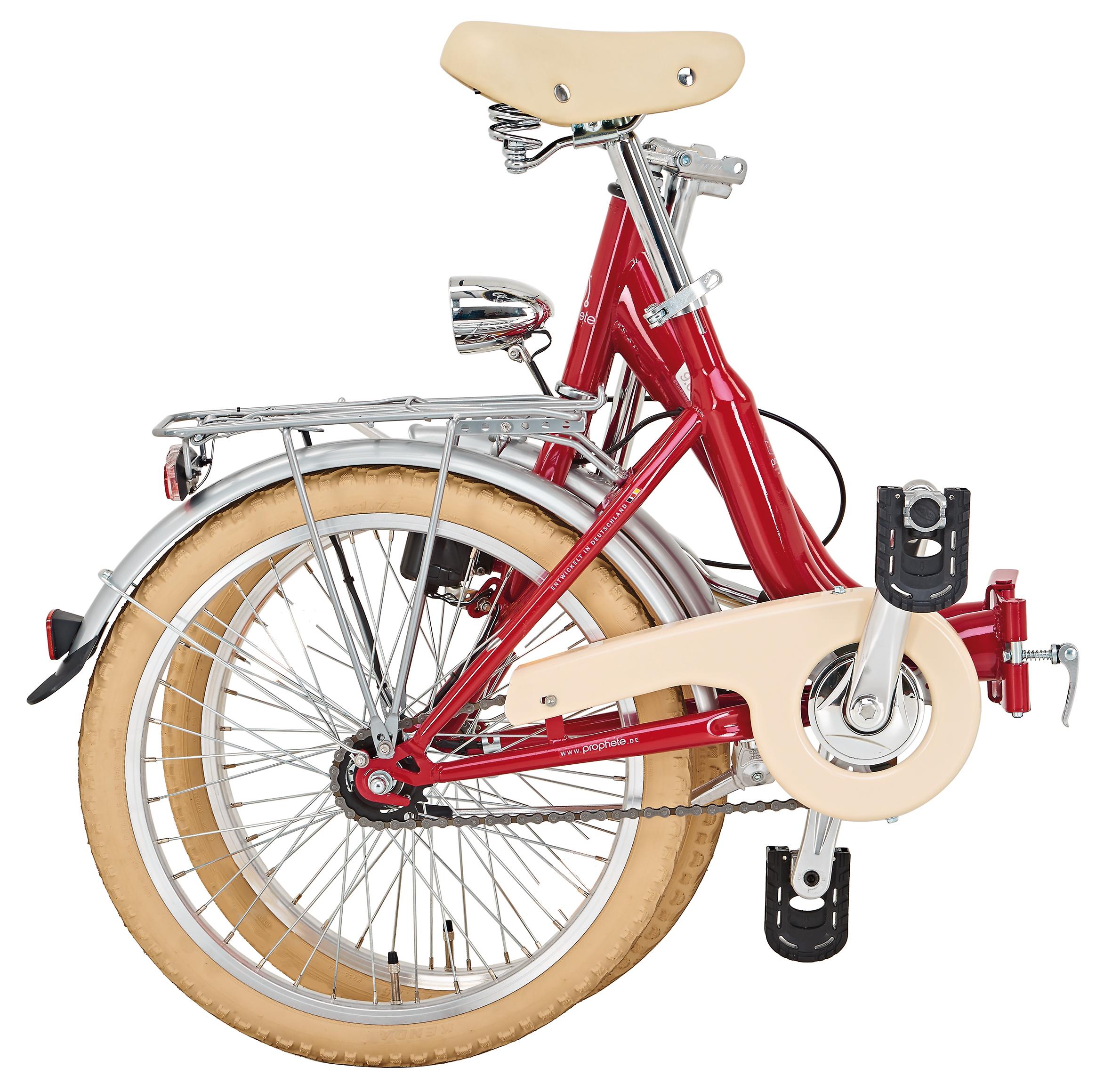"Prophete City Faltrad Geniesser 9.0 City Bike 20"" Bild 3"