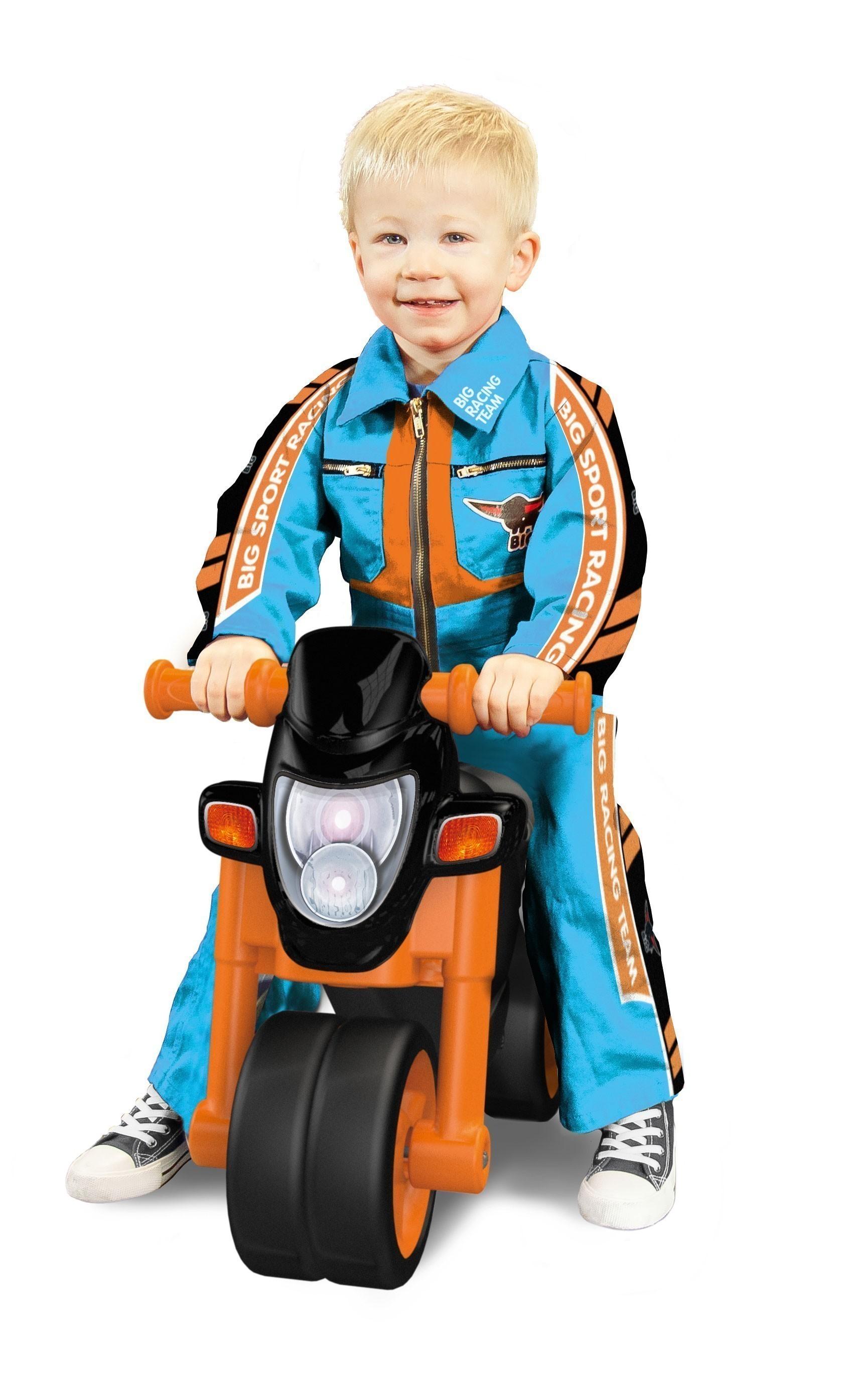 BIG Laufrad Sport Bike schwarz-orange Bild 1