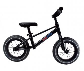 "kiddimoto Laufrad MT2 Mountainbike Design 12"" Luftbereifung schwarz Bild 2"