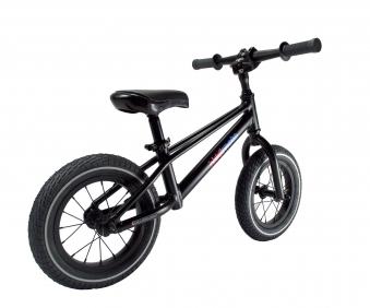 "kiddimoto Laufrad MT2 Mountainbike Design 12"" Luftbereifung schwarz Bild 3"