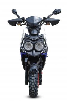 Motorroller / 4 Takt Moped BMX 4.0 50ccm 45KM/H blau Bild 5