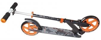 Alu Scooter / Cityroller Muuwmi 200mm schwarz-orange Bild 2