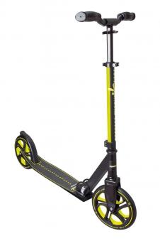 Alu Scooter / Cityroller Muuwmi Pro 215 mm lime-grün Bild 1