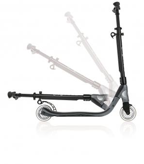 Cityroller / Alu Scooter Globber One NL 125 kohlegrau Bild 2