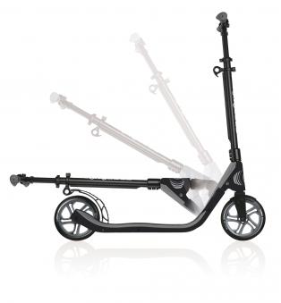 Cityroller / Alu Scooter Globber One NL 205 kohlegrau Bild 2