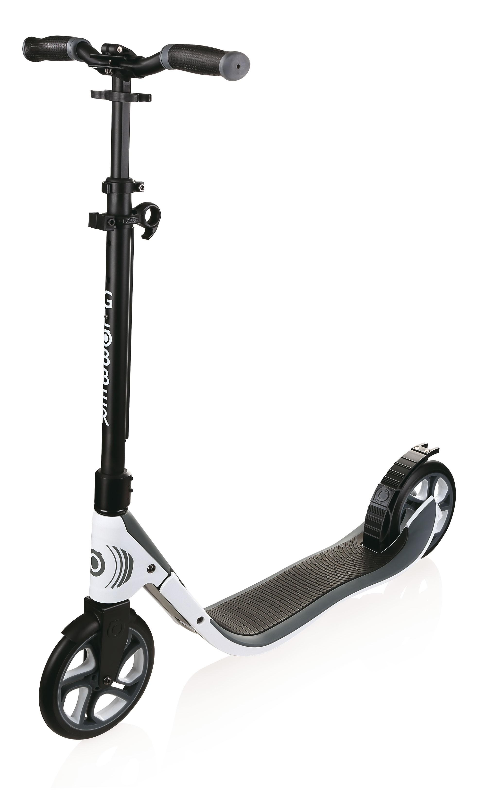 Cityroller / Alu Scooter Globber One NL 205 weiß Bild 1