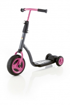 Kettler Kid´s Scooter Girl / Kinder Roller rosa grau T07015-0010
