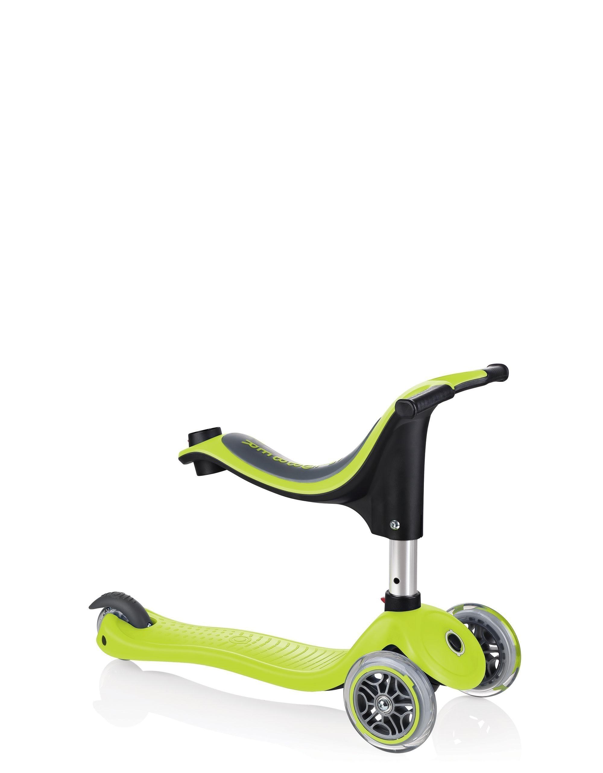 Scooter / Kinderroller / Dreirad / Laufrad Globber Evo 4in1 grün Bild 3