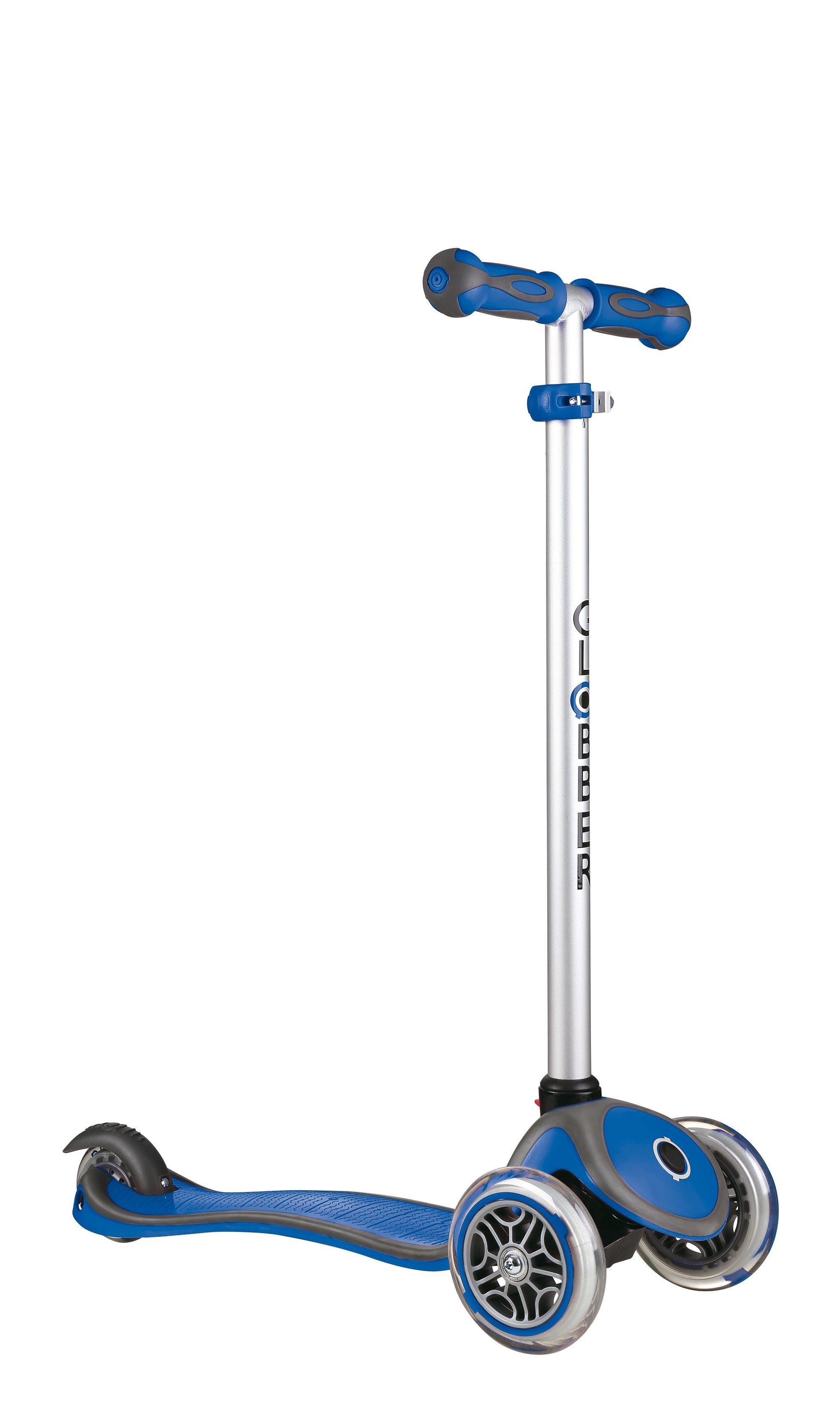 Scooter Kinderroller Dreirad Laufrad Globber Evo Comfort 5in1 blau Bild 2