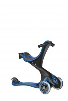 Scooter Kinderroller Dreirad Laufrad Globber Evo Comfort 5in1 blau Bild 3