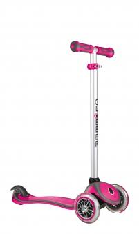 Scooter Kinderroller Dreirad Laufrad Globber Evo Comfort 5in1 pink Bild 2
