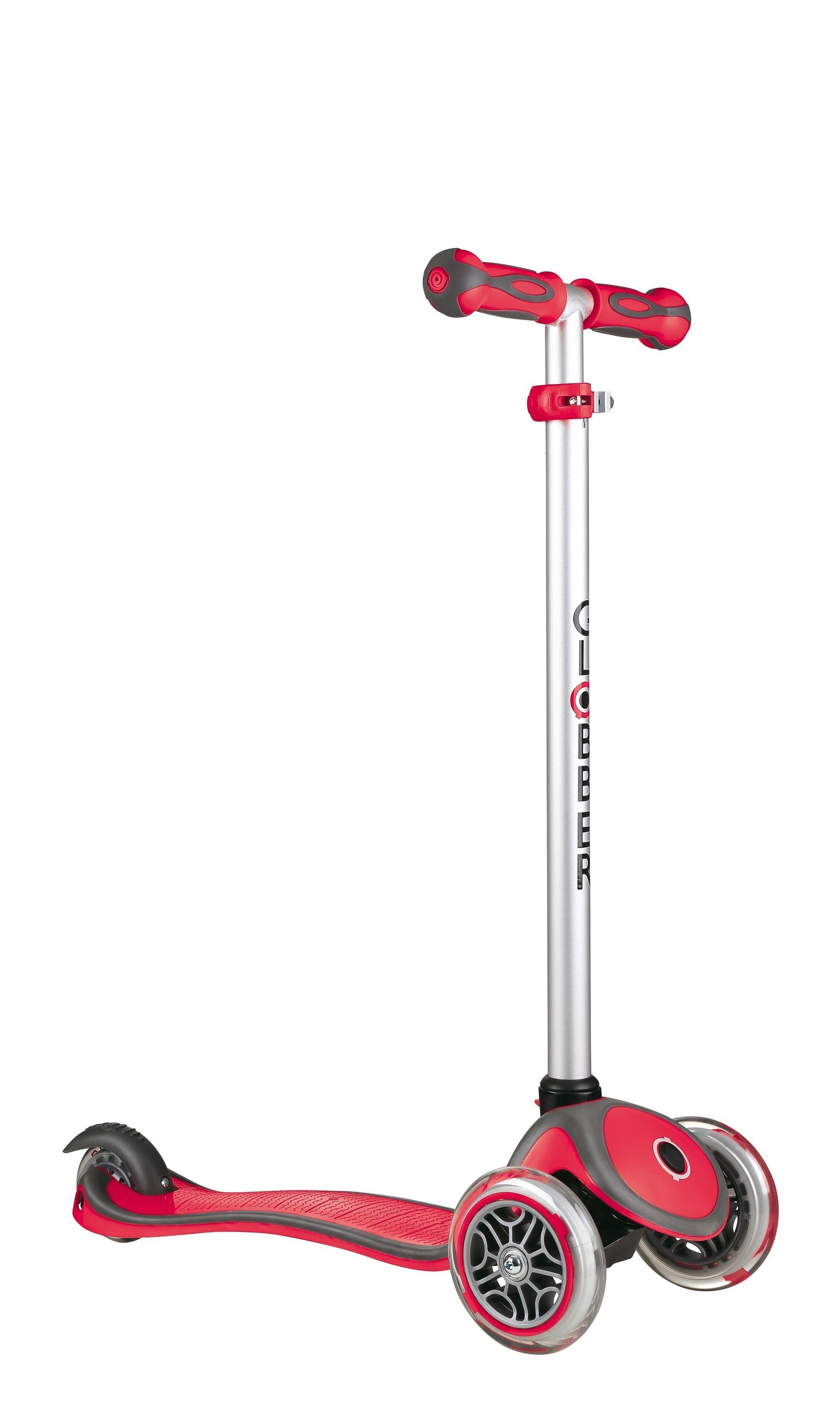 Scooter Kinderroller Dreirad Laufrad Globber Evo Comfort 5in1 rot Bild 3