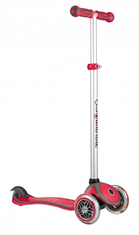 Scooter Kinderroller Dreirad Laufrad Globber Evo Comfort 5in1 rot Bild 4