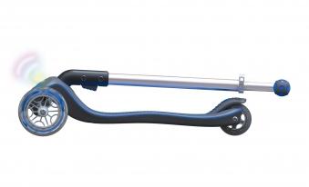 Scooter Kinderroller Globber Elite flash light navy-blau Bild 6