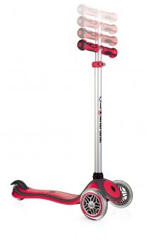 Scooter / Kinderroller Globber Primo Plus rot Bild 2