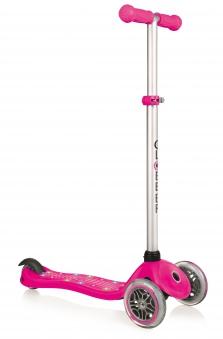 Scooter / Kinderroller Globber Primo Starlight pink Bild 1