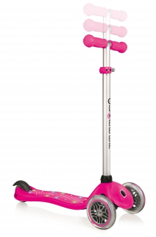Scooter / Kinderroller Globber Primo Starlight pink Bild 2