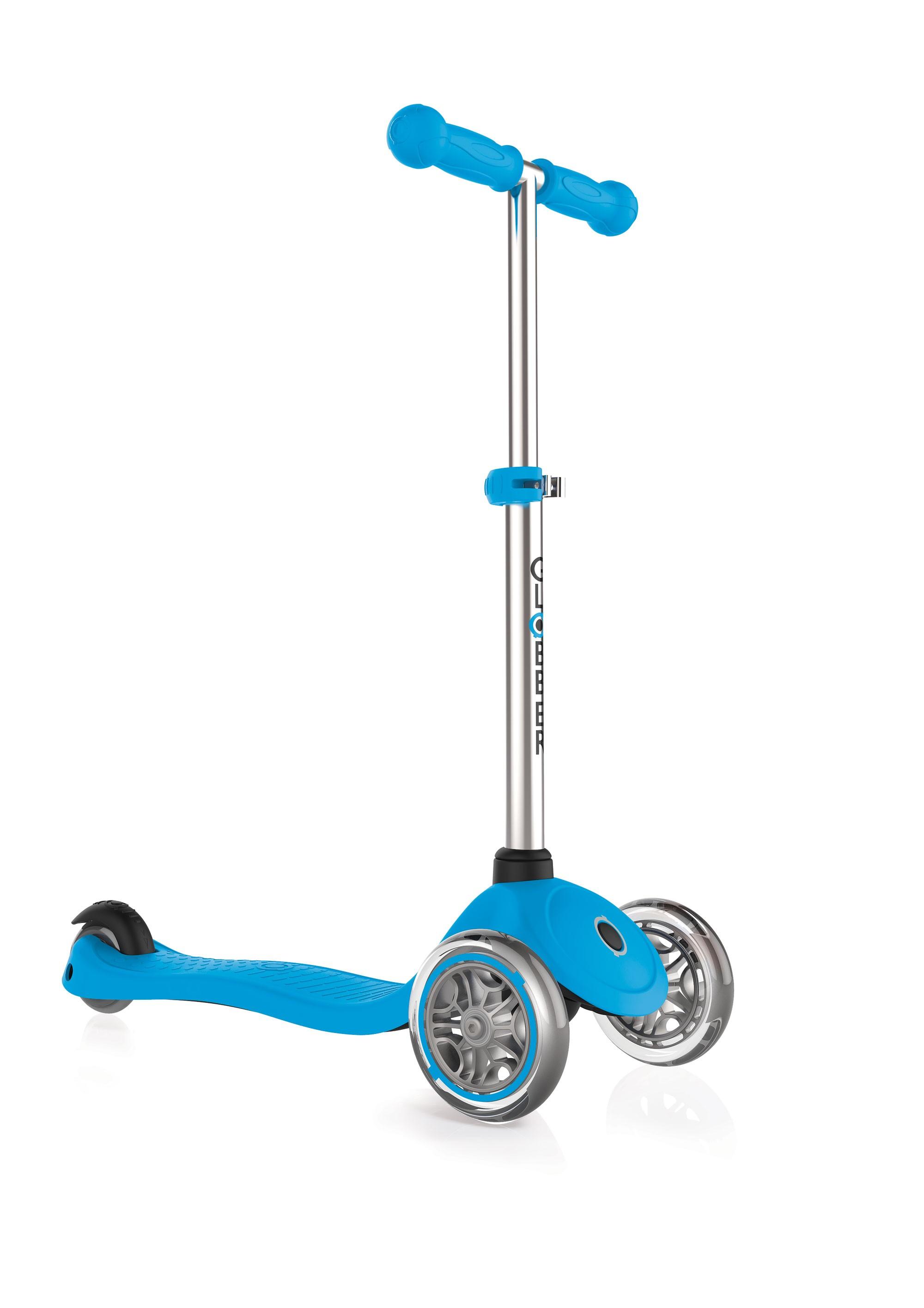 Scooter / Kinderroller Globber Primo himmelblau Bild 1