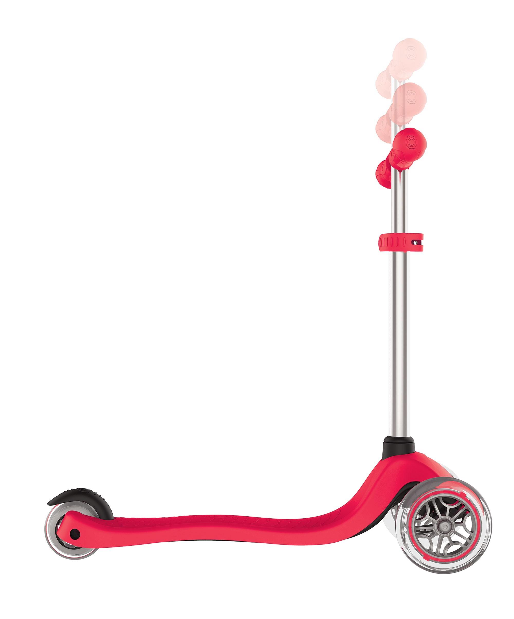 Scooter / Kinderroller Globber Primo rot Bild 2