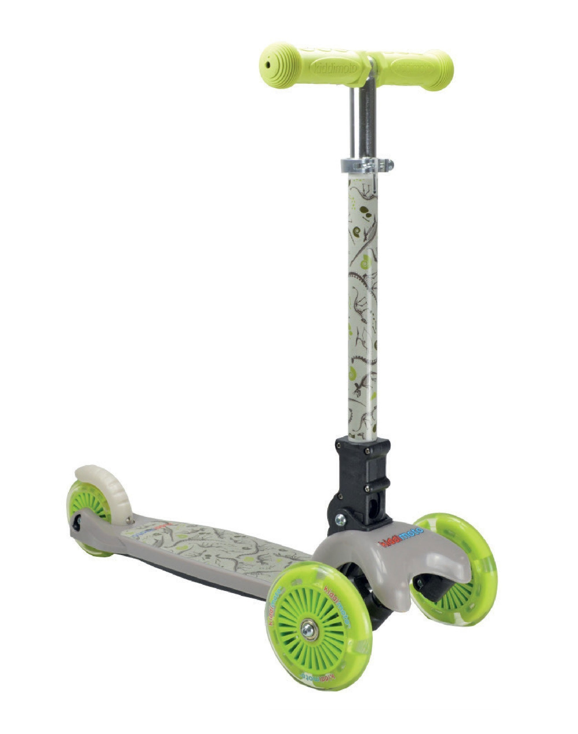 kiddimoto Scooter / Kinderroller U-Zoom Scooter klappbar Fossil Dino Bild 1