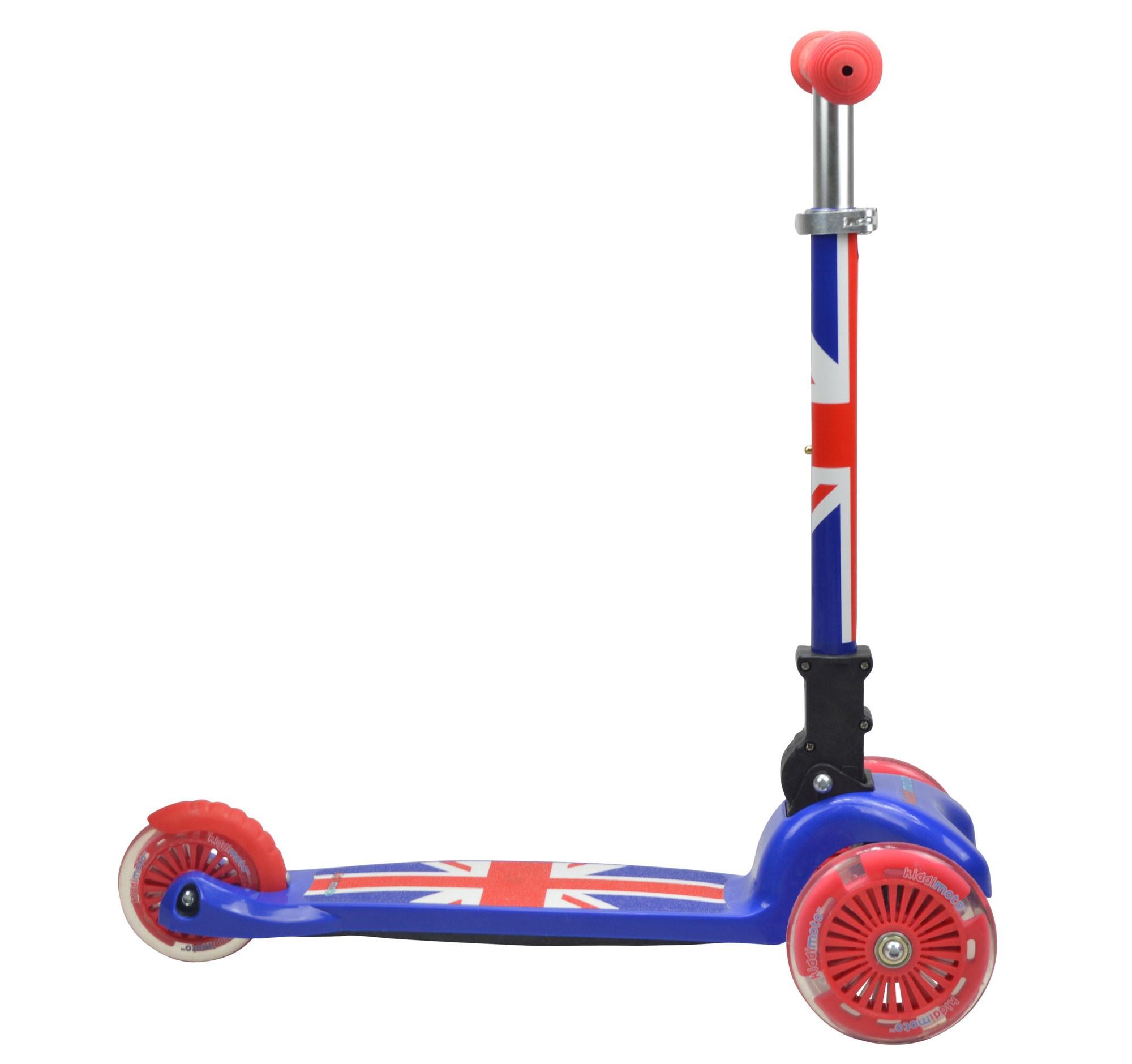 kiddimoto Scooter / Kinderroller U-Zoom Scooter klappbar Union Jack Bild 2